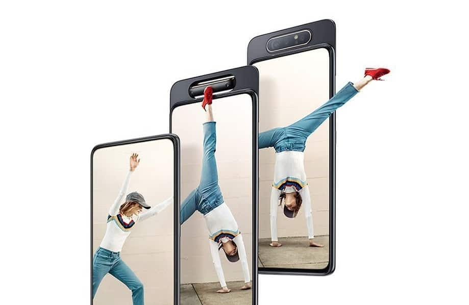 Samsung Galaxy A80: Welcome to the Flip Side