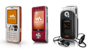 Sony erricson walkman series