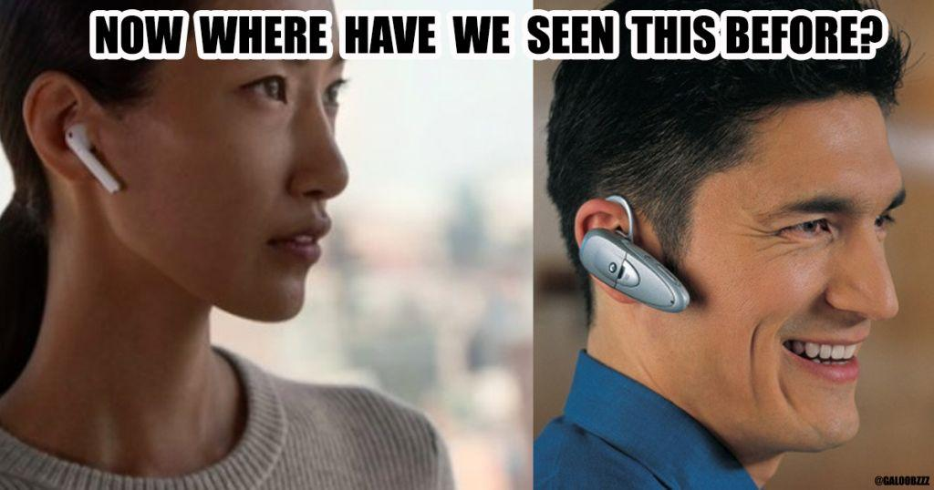 Airpods resemblance