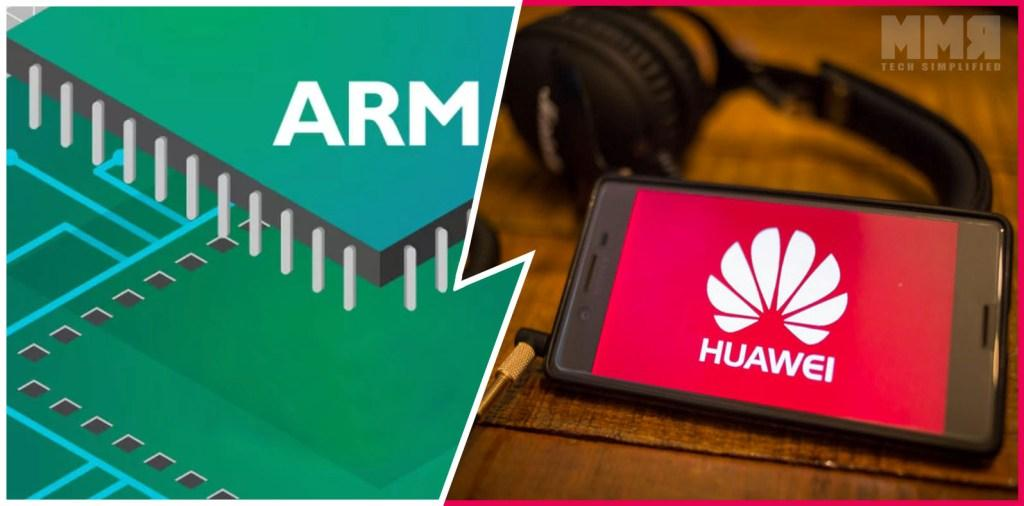 Arm cut ties with Huawei