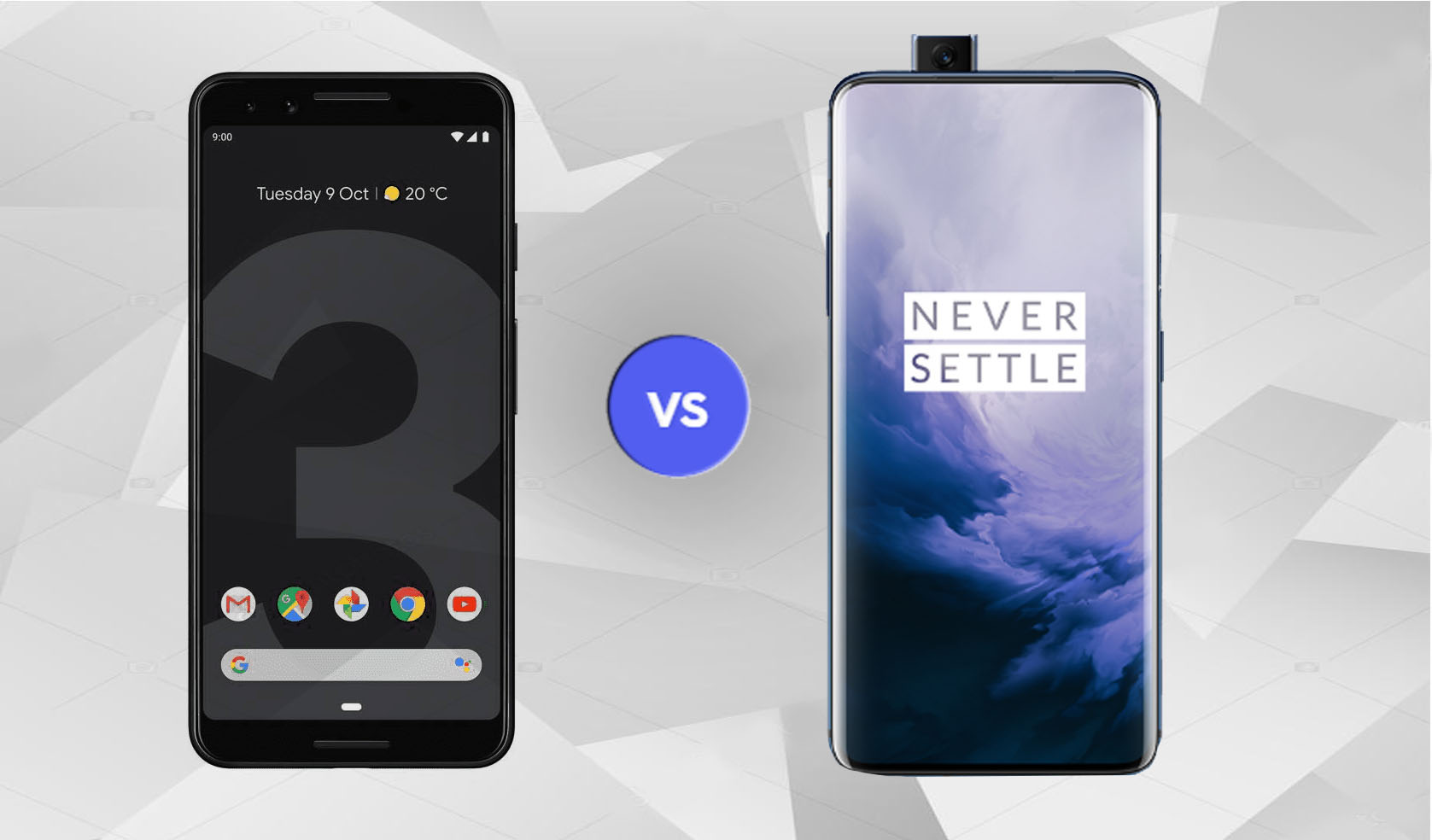 Google Pixel 3a vs One Plus 7