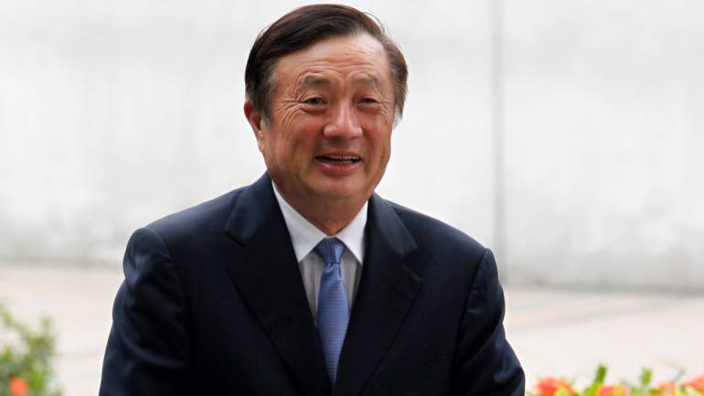 Huawei Chief Becomes First to Protest US Ban