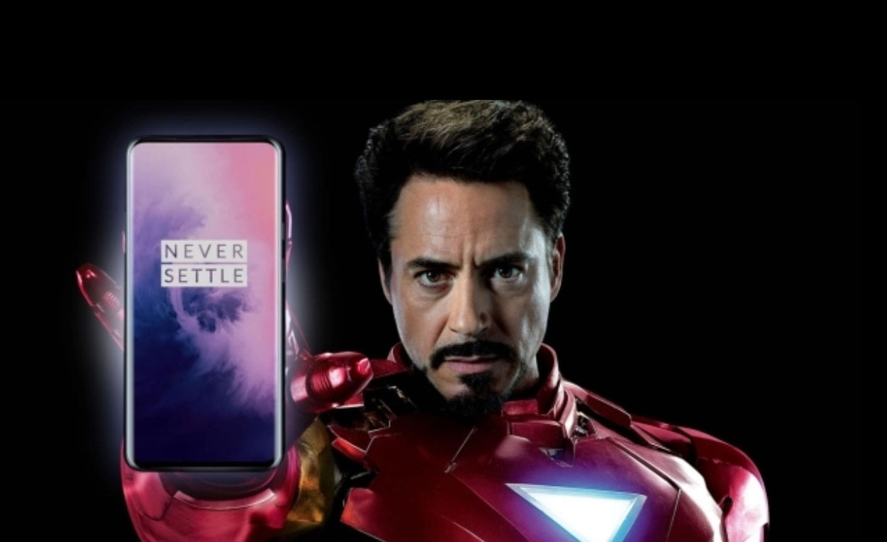 OnePlus 7 series is Iron Man's favourite