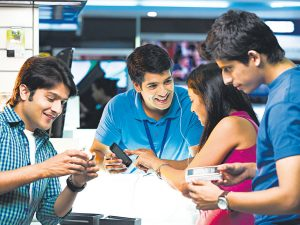 'Youth Maange More!' from their phones