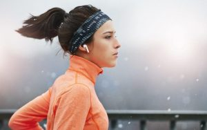 Light weighted wireless earbuds in marked for fitness freaks