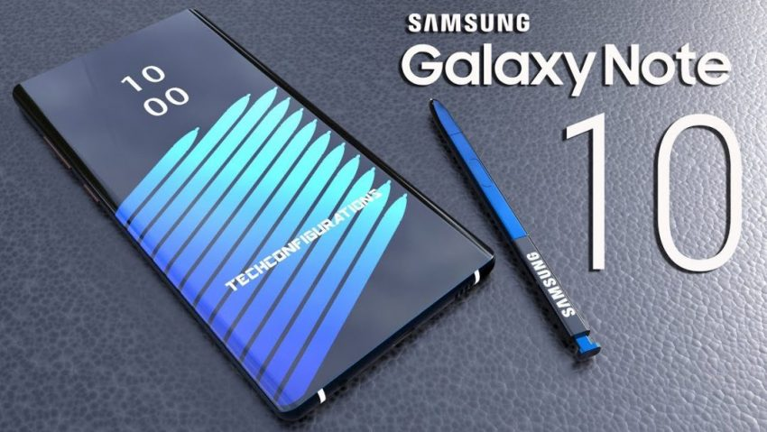 Galaxy Note 10 Display