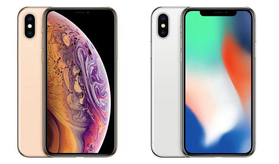 iPhone X and iPhone XS
