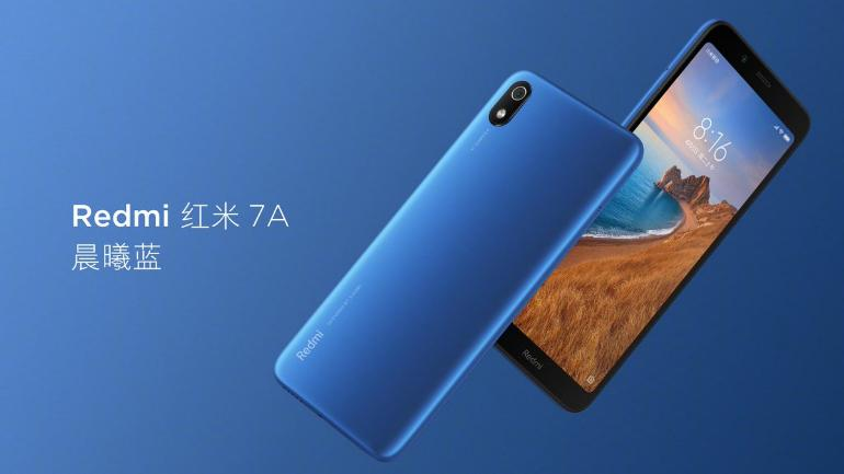 Redmi 7A Is Going to Launch in India, Price To Start at Rs. 5,799