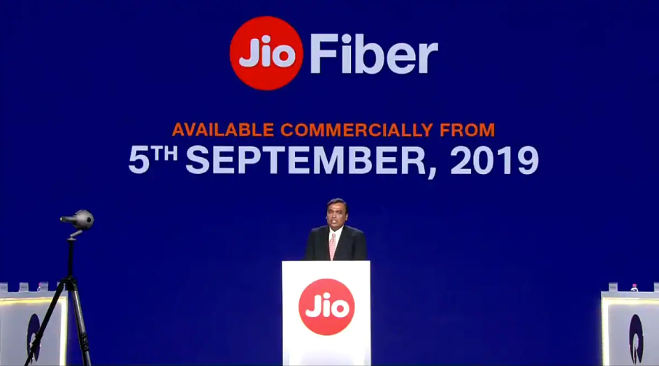 Jio GigaFiber Plans, Pricing, Launch date All You Need to Know