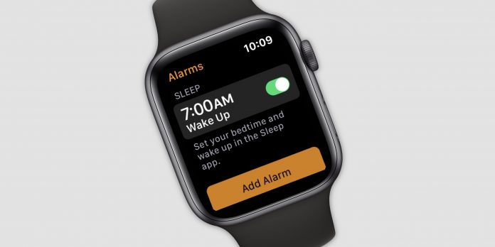 New Sleep App For Apple Watch Spotted