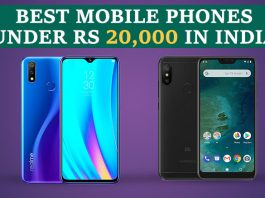 Best Phones Under Rs 20,000