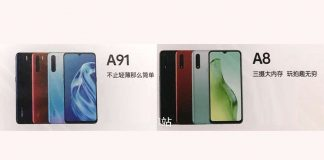 OPPO A8 and OPPO A91